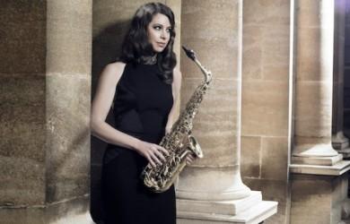 Australia's classical saxophonist Amy Dickson