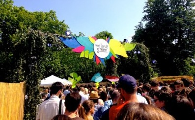 All were welcome to the We Love Green festival outside Paris