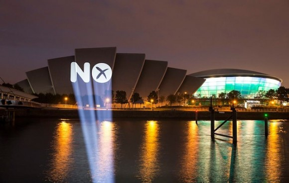 The 'No' vote in Scotland had some hefty support