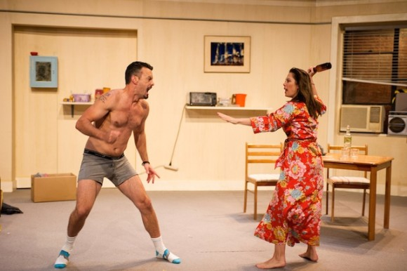 Troy Harrison and Zoe Trilsbach in a battle of love and betrayal Photo: Kurt Sneddon