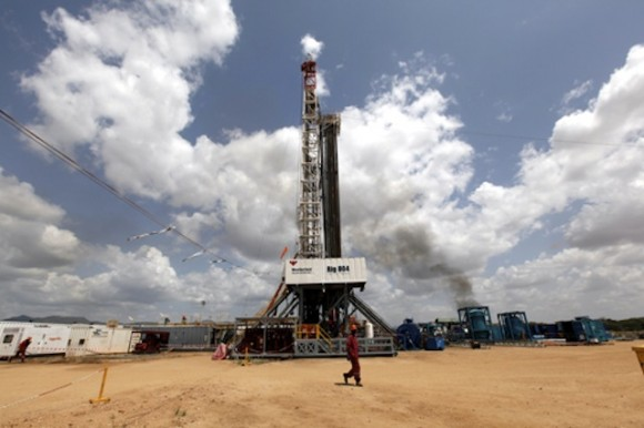 Oil rig at Ngamia in Turkana County, Photo: DEMOSH /flickr