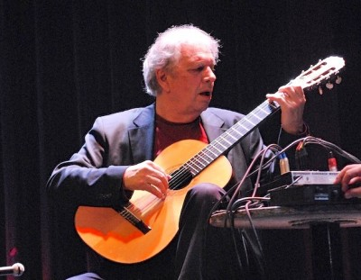 Legendary guitarist Ralph Towner, formerly of US group Oregon