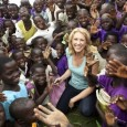 Tracey Spicer travelled through Uganda in October 2011 to report on the work being done by ActionAid. Photo: Spicercommunications