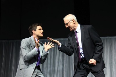 The Ruperts: Great double  act, Guy Edmonds and James Cromwell Photo: Marine Raynard