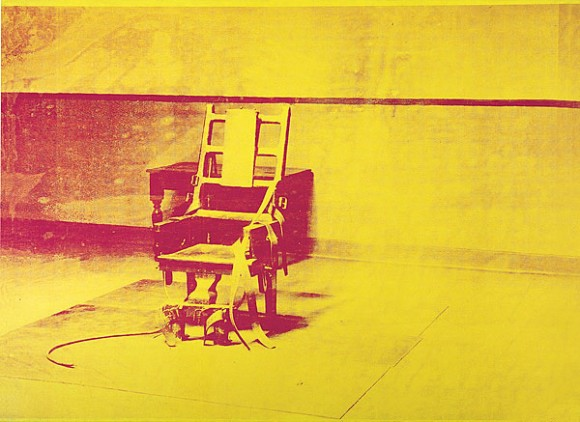 POP Electric Chair, Andy Warhol 1965