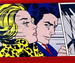 In the Car, Roy Lichtenstein 1963