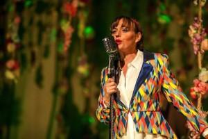 Abi Tucker sings  Shakespeare ditties Photo: Rush