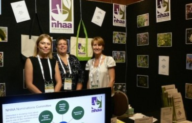 NHAA staff  at the conference