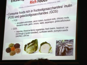 Foods that help maintain and restore gut microbiota