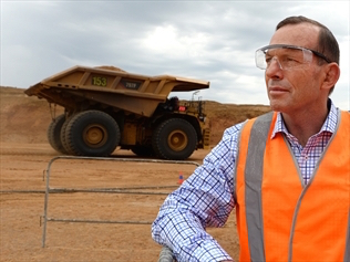 Tony Abbott's argument that coal is good for humanity contradicts any action on climate change