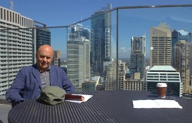 Luca Zingaretti in Sydney Photo: James Mohr