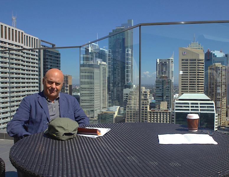 Luca Zingaretti in Sydney Photo: James Mohr
