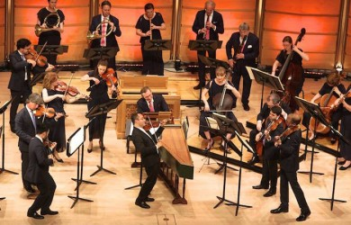 2015 Australian Brandenburg Orchestra with Riccardo Minasi, opening night in Sydney, City Recital Hall