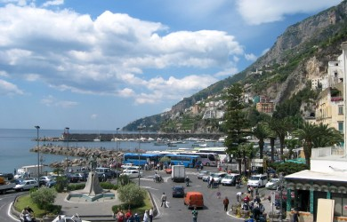 Magnificent Amalfi   Photo: Pam Walker