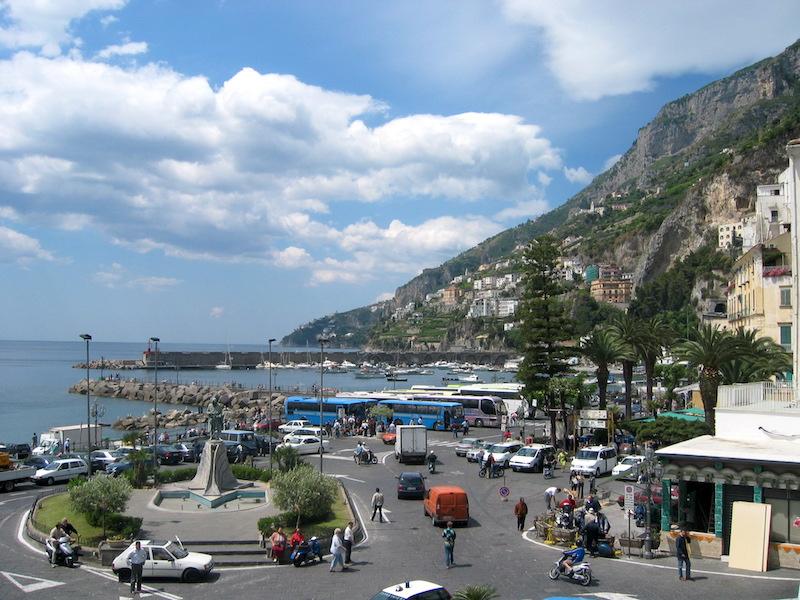 Magnificent Amalfi   Photo: Pam Walker