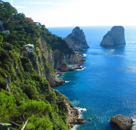 über-glamorous island of Capri