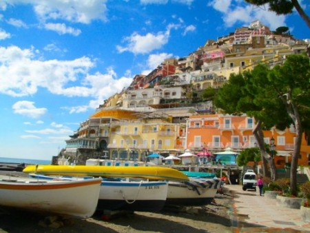 Positano Beach  Photo: Lucy Kiely