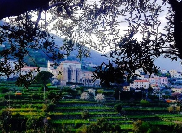Ravello, high above the hills of Amalfi  Photo: Lucy Kiely