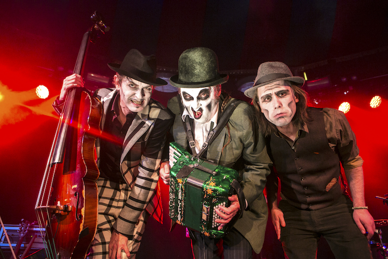 The Very Worst of the Tiger Lillies in the Famous Spiegeltent     Photo:  Jamie Willams