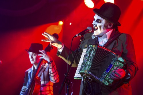 The Tiger Lillies perform at the 2016 Sydney Festival  Photo: Jamie Willams