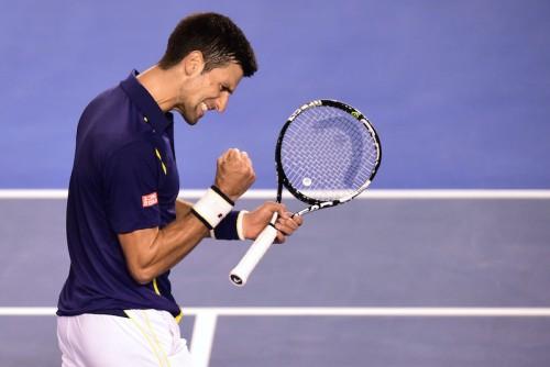 This year's winner Novak Djokovic, F, 31 January 2016. Photo: Ben Solomon/Tennis Australia