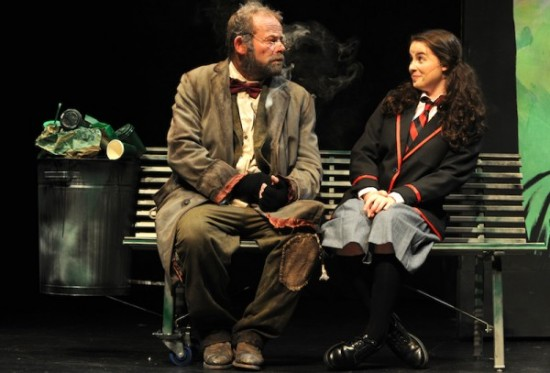 2. Huw Higginson and Romy Watson in Mr Stink (photo by Heidrun Lohr)