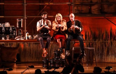 Karim Sulayman, tenor, Natasha Wilson Soprano and Jakob Bloch Jespersen.