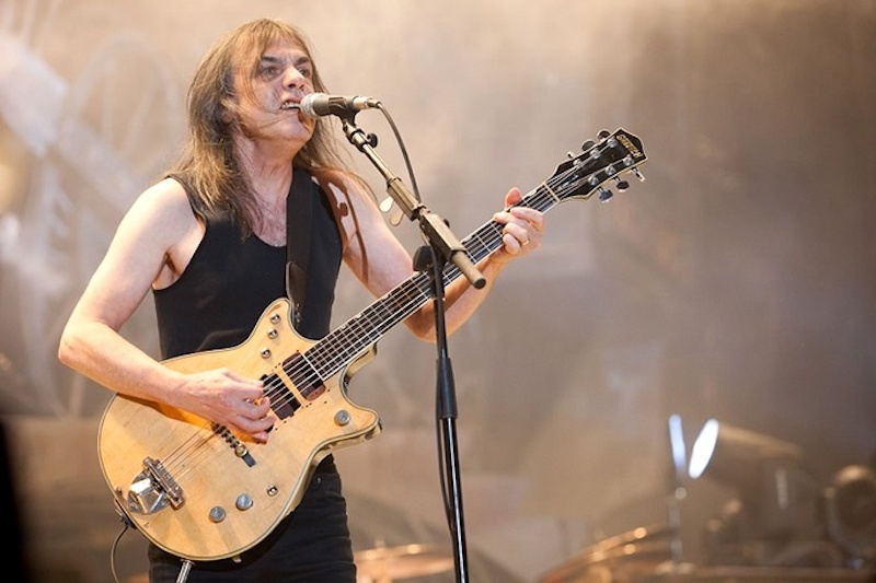 AC/DC guitarist and co-founder Malcolm Young